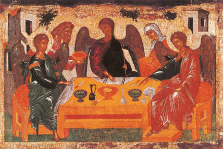 Andreï Rublëv, L'hospitalité d'Abraham