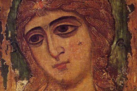 Archange aux cheveux dorés, Musée russe de St-Petersburg