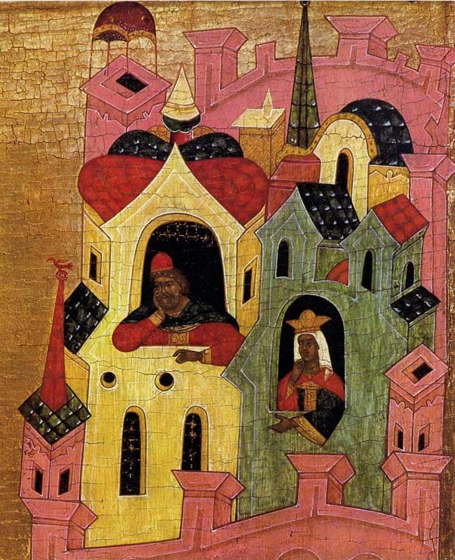 Saint George et le dragon