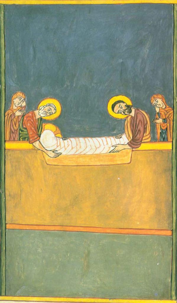 La mise au tombeau, Les quatre Évangiles, 1437