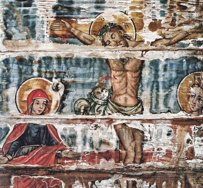 L'église en bois la Dormition de la Mère de Dieu