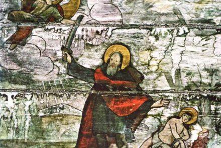L'église en bois saint Jean Baptiste, village de Românești