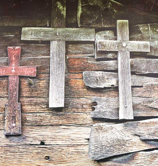 L'église en bois saints Pierre et Paul