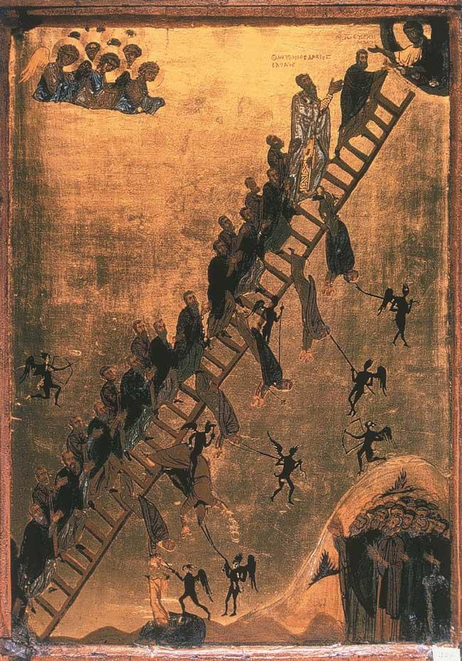 L'Échelle spirituelle de saint Jean Climacus, XIe-XIIe siècle.